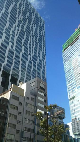 渋谷STREAMと再開発の状況