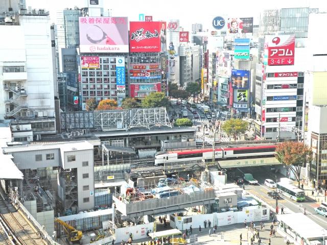 渋谷の再開発でビジネスはどう変わる?オフィスに向いたエリアも解説