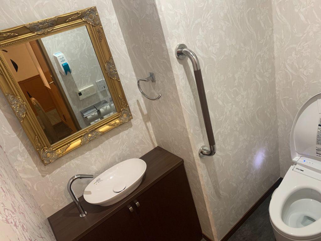 トイレが新しくなりました✨