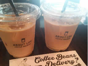 ABOUT LIFE COFFEE ラテ